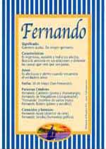 Nombre Fernando