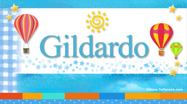 Gildardo, imagen de Gildardo
