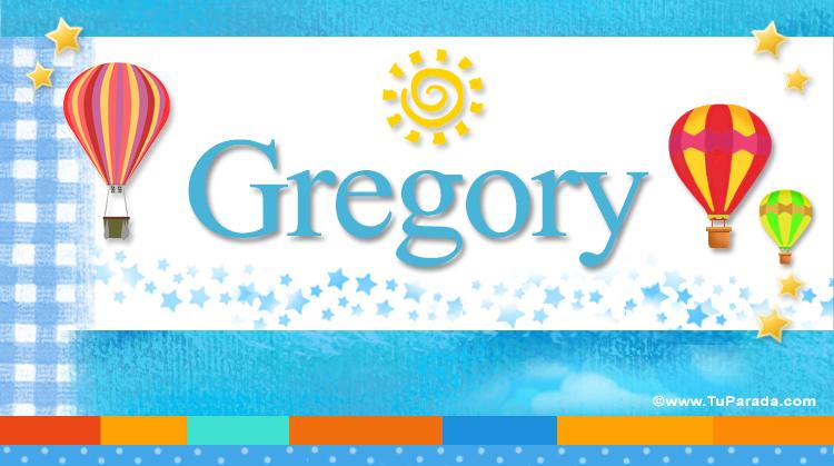 Gregory, imagen de Gregory