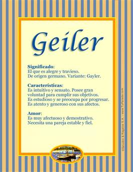 Nombre Geiler
