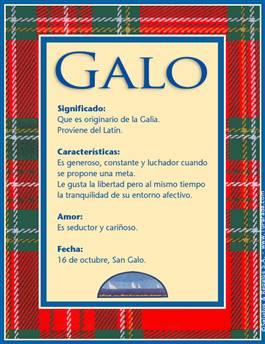 Nombre Galo