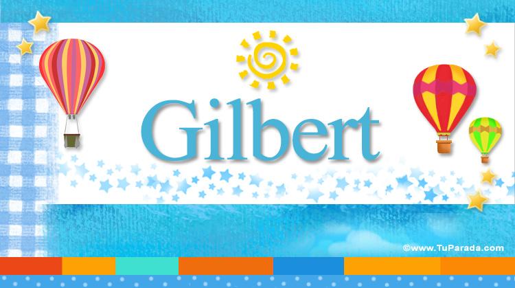 Gilbert, imagen de Gilbert