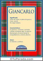 Giancarlo