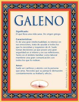 Nombre Galeno