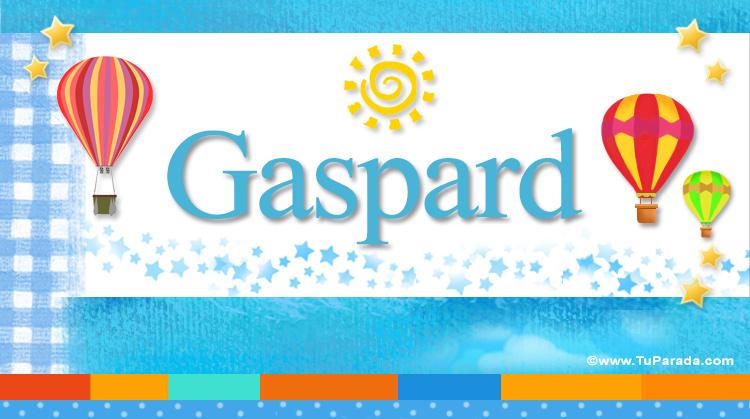 Gaspard, imagen de Gaspard