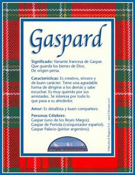 Nombre Gaspard