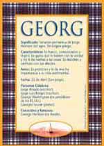 Nombre Georg