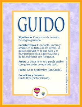 Nombre Guido