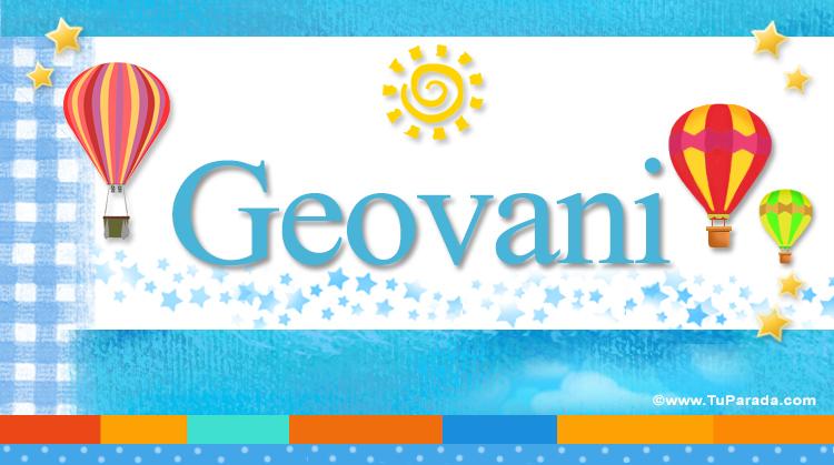 Geovani, imagen de Geovani