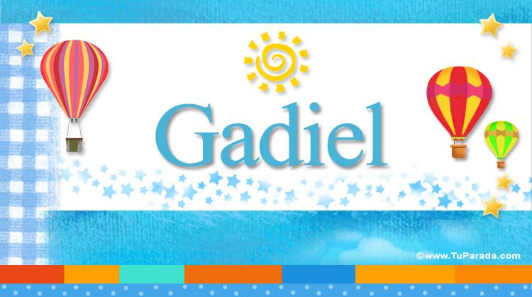 Gadiel, imagen de Gadiel