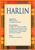 Nombre Harlin