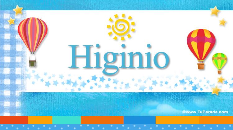 Higinio, imagen de Higinio