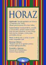 Nombre Horaz