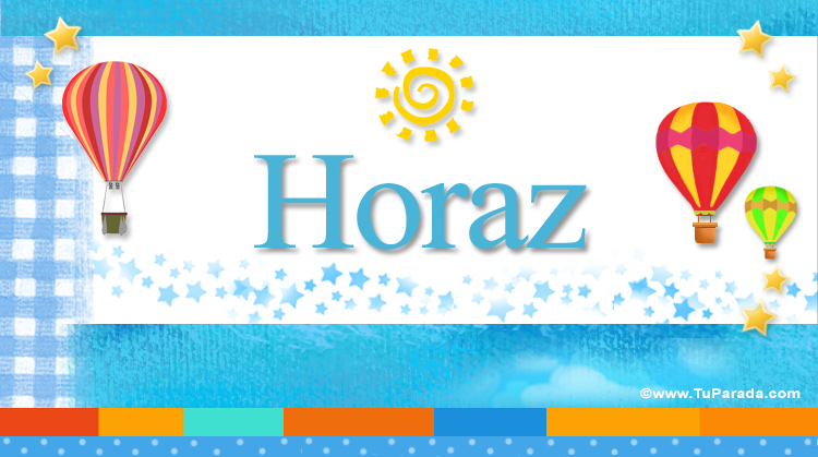 Horaz, imagen de Horaz