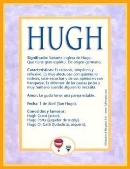 Nombre Hugh