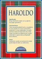 Nombre Haroldo