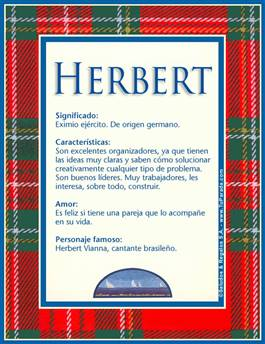 Nombre Herbert