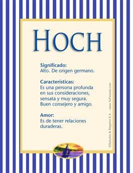 Nombre Hoch