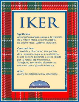 Nombre Iker