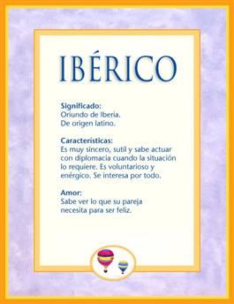 Nombre Ibérico