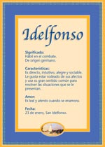 Idelfonso