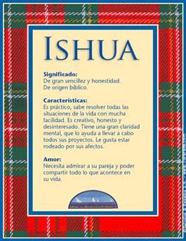 Nombre Ishua