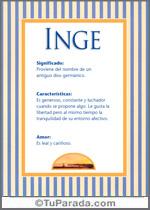 Nombre Inge