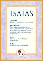 Nombre Isaías