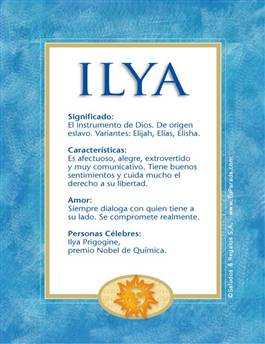 Nombre Ilya