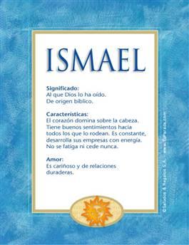 Nombre Ismael