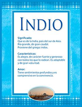 Nombre Indio