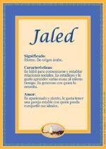 Jaled