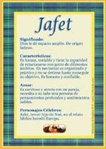Nombre Jafet