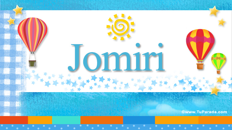 Jomiri, imagen de Jomiri