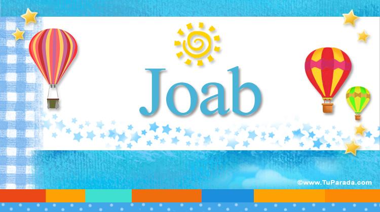 Joab, imagen de Joab
