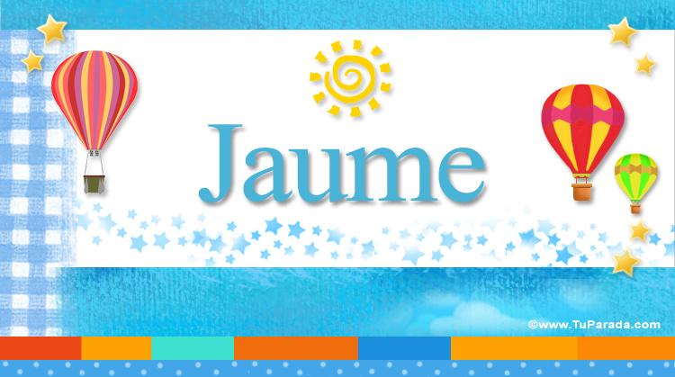 Jaume, imagen de Jaume
