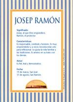 Nombre Josep Ramón