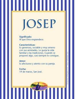 Nombre Josep
