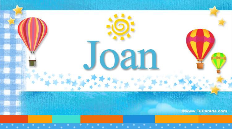 Joan, imagen de Joan