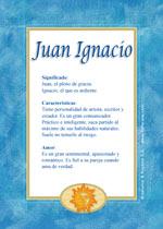 Nombre Juan Ignacio