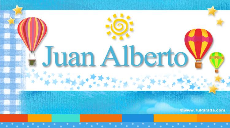 Juan Alberto, imagen de Juan Alberto