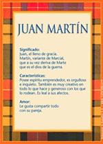 Nombre Juan Martín