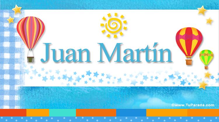 Juan Martín, imagen de Juan Martín