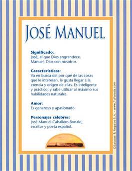 Nombre José Manuel