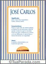 Nombre José Carlos