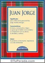 Nombre Juan Jorge