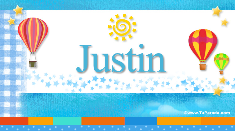 Justin, imagen de Justin