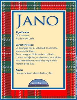 Nombre Jano