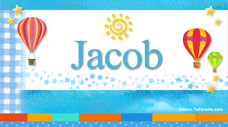 Jacob, imagen de Jacob