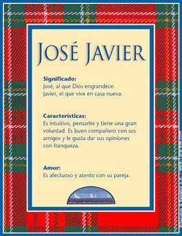 Nombre José Javier